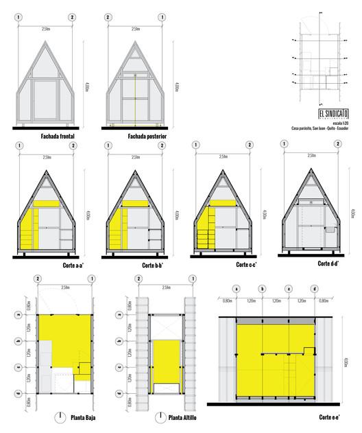 Parasite House / El Sindicato Arquitectura