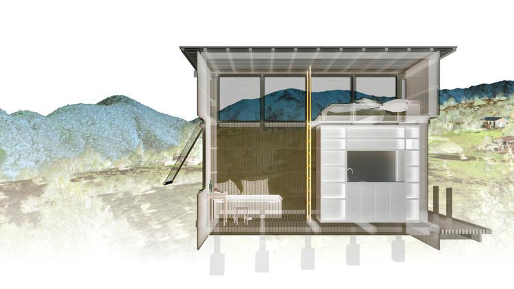 Charred Cabin / DRAA