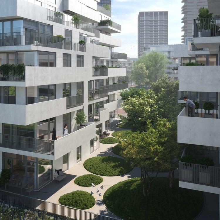 Amsterdã em transformação: quatro projetos do KAAN Architecten que reconfiguram a capital holandesa , The Stack . Image Cortesia de KAAN Architecten