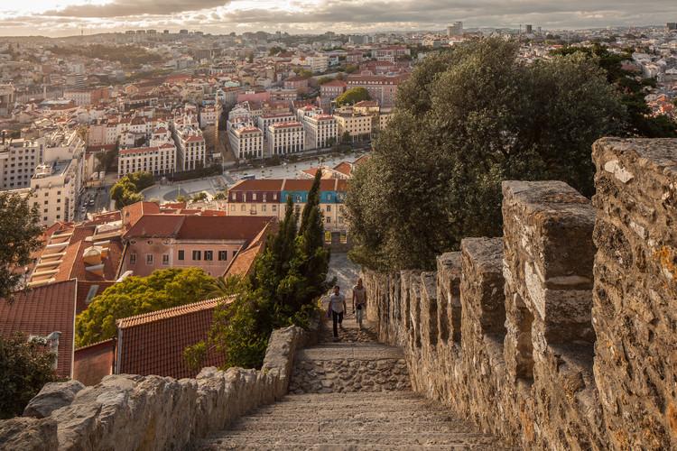 Conheça a capital portuguesa pelos ouvidos com o Open House Lisboa 2020, Passeio com Goncalo Byrne, Castelo S. Jorge. Foto © Fernando Guerra | FG+SG