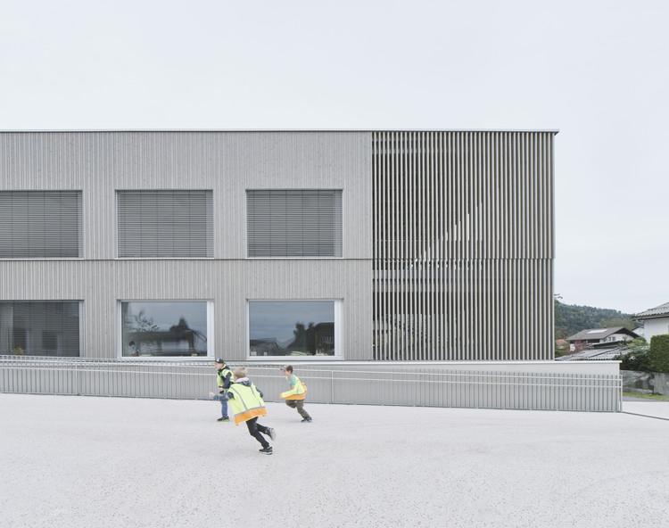 Bütze Wolfurt Primary School  / Schenker Salvi Weber Architekten, © David Schreyer