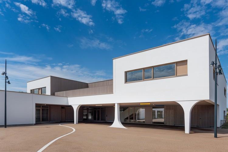 School in Furdenheim / Agence MW, © Michael BOUTON / edifice-photo
