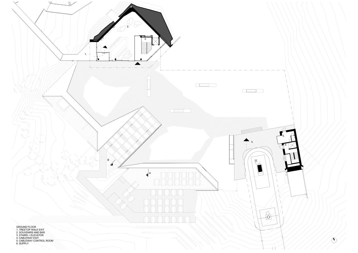 Gallery Of Bachledka Summit Facilities Compass Atelier 34