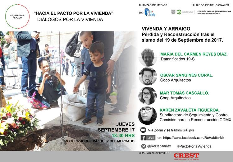 Vivienda y arraigo: pérdida y reconstrucción tras el sismo del 19 de septiembre de 2017, Cortesía de Re_Habitar Mx. Fotografía: Coop Arquitectos.