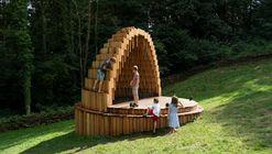Instalação Rain Amplifier  / Matthijs la Roi Architects