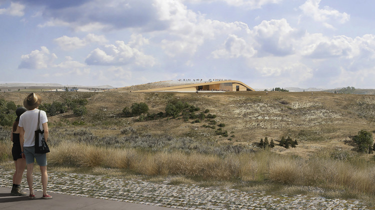 Snøhetta Wins the Theodore Roosevelt Presidential Library Competition in North Dakota, Courtesy of Snøhetta