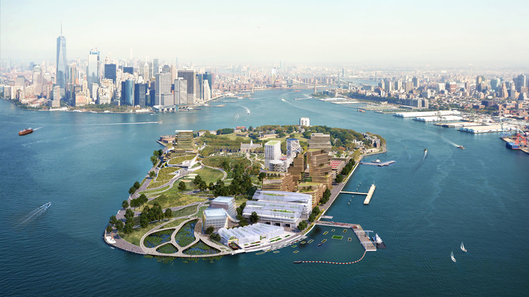 WXY Proposes Climate Solution Center on Governors Island in New York, © WXY architecture + urban design/bloomimages