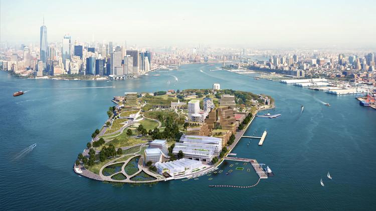WXY propone un centro de soluciones climáticas en Governors Island en Nueva York, © WXY architecture + urban design/bloomimages