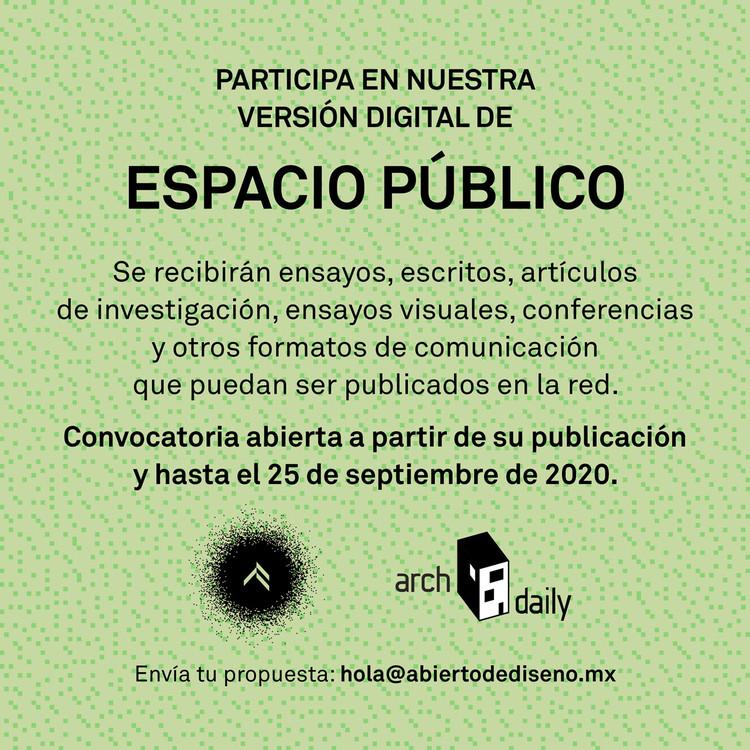 ¡Abierto Mexicano de Diseño + ArchDaily convocan a publicar tu proyecto!, © Abierto Mexicano de Diseño
