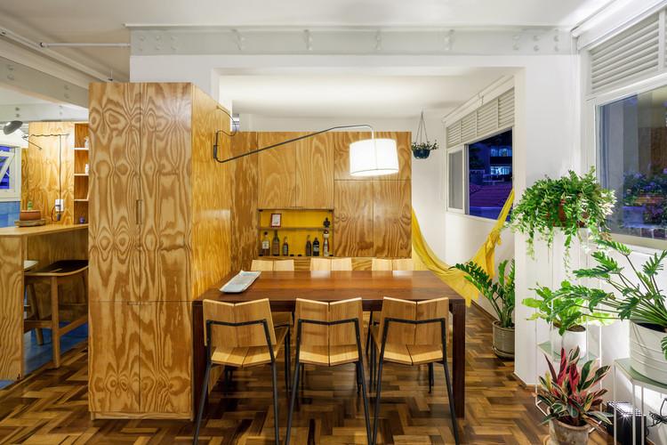 Apartamento Amizade / Canoa Arquitetura + Pedro Del Guerra, © Rafaela Netto