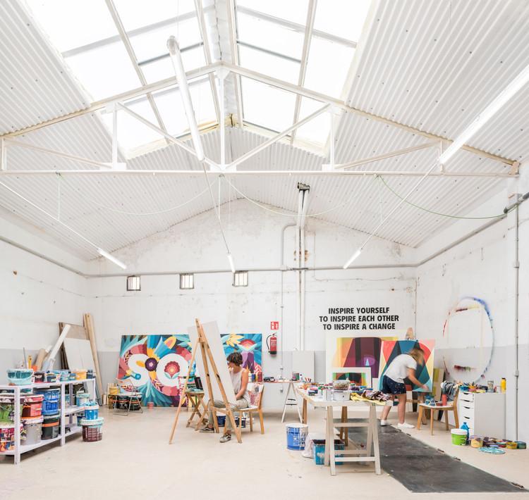 Boa Mistura's Headquarters  / ESTUYO Studio, © Javier de Paz García