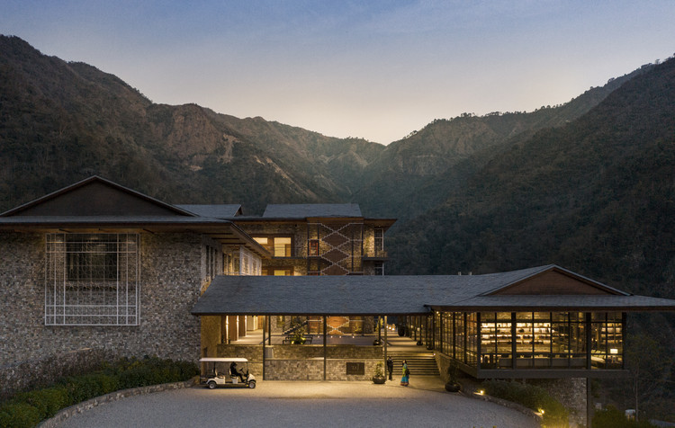 Hotel Resort e Spa Taj Rishikesh / yh2 + Edifice Consultants Pvt. Ltd, © Maxime Brouillet