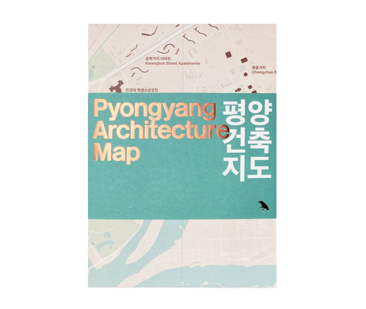 """Pyongyang Architecture Map"" by Oliver Wainwright"