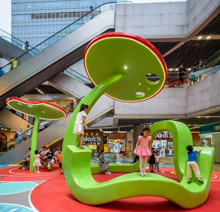 Secret Garden Plaza / 100 Architects, © Rex Zou