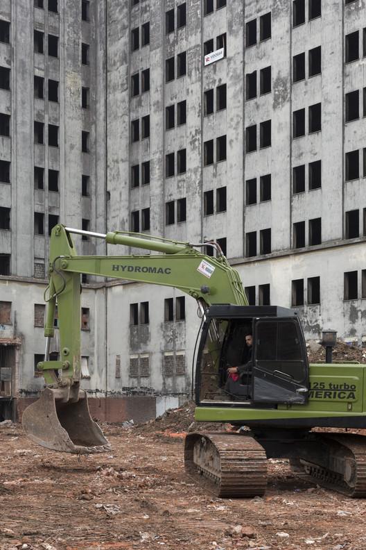 Desmantilado 1. Imaxe Secretario de Desenvolvemento Urbano Cortesía / Goberno da Cidade Autónoma de Bos Aires