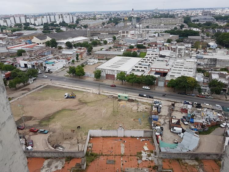elefante branco - antes. Imaxe cortesía da Secretaría de Desenvolvemento Urbano / Goberno da Cidade Autónoma de Bos Aires