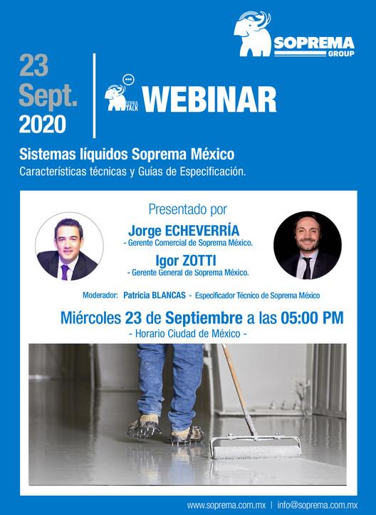 Webinar SOPREMA: Sistemas líquidos Soprema México