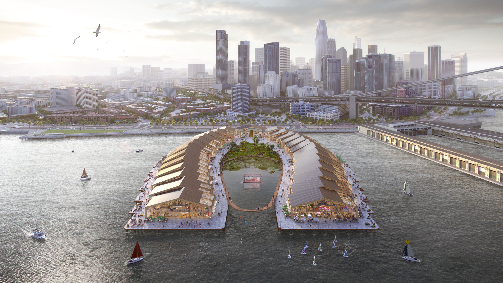 Heatherwick Proposes New and Improved Waterfront Experience for San Francisco