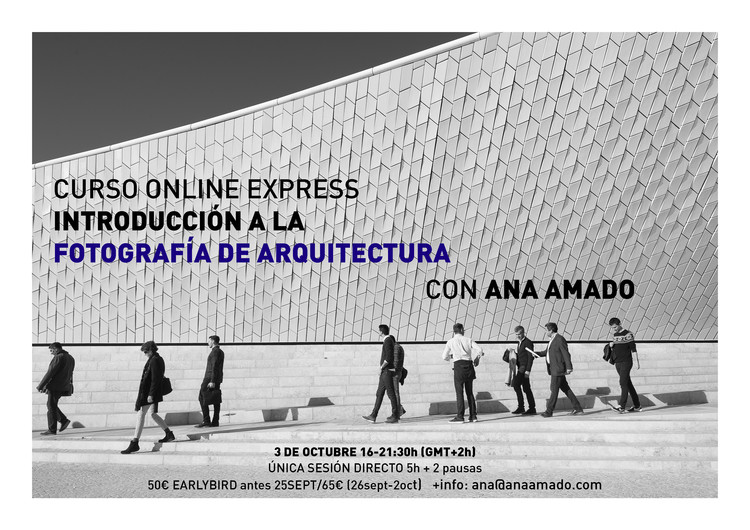 Curso Online Express de Introducción a la Fotografía de Arquitectura, Maat, Lisboa (c) Ana Amado.