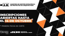 Maestría en gestión estratégica de proyectos de Arquitectura: Inscripciones abiertas