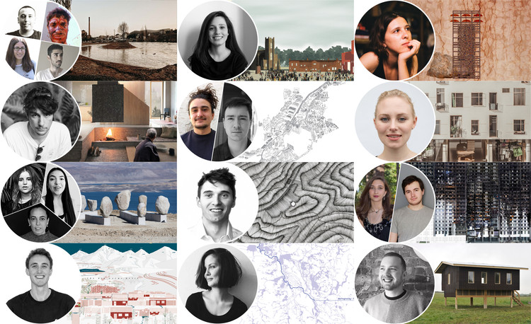 Finalists Released for 2020 Young Talent Architecture Award, The 12 finalists of YTAA 2020. Image Courtesy of YTAA