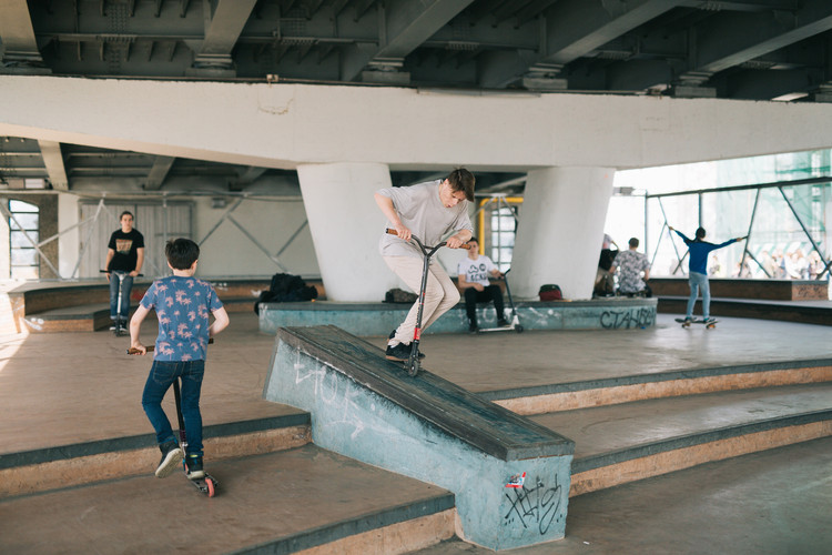 skate-spot by Strelka KB, Strelka Architects, and Snøhetta. Image Courtesy of Strelka KB