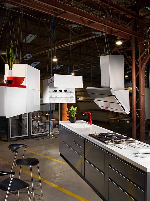 ¿Qué es el termolaminado y cómo puede aplicarse en el diseño de interiores?, Muebles de cocina. Image Cortesía de Arteamerican