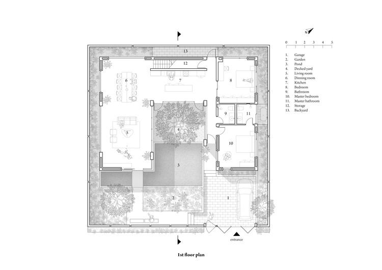 Plan - First floor