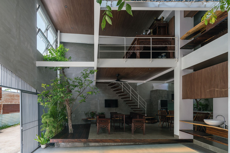 Tole House / H2, © Quang Dam