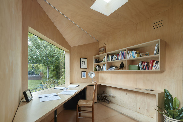 Tiny Offices: Extensions Separating Home from Workspaces, © Shannon McGrath
