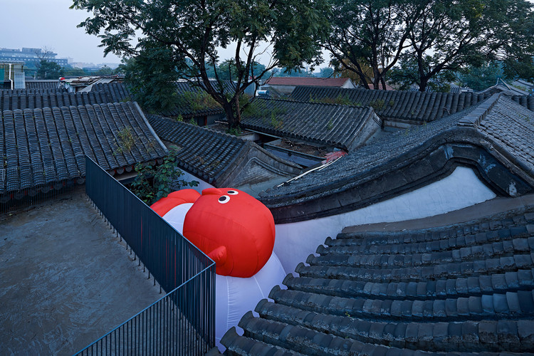Why Don't We Teach Chinese Architecture in the United States?, Transform and Rethink / Hu Yue Studio. Image © Chaoying Yang + Su Chen