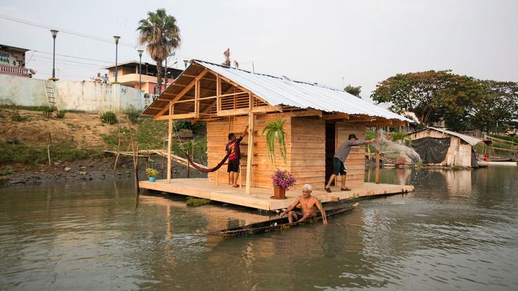 Refúgio do Pescador - Habitat Flutuante Produtivo / Natura Futura Arquitectura + Juan Carlos Bamba, Cortesía de Natura Futura Arquitectura