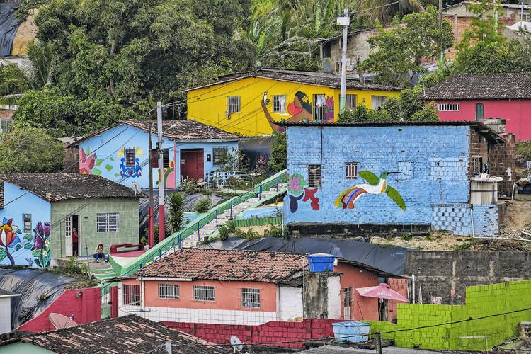 Uma nova história para os morros do Recife: comunidade Lagoa Encantada, Foto: © Max Levay