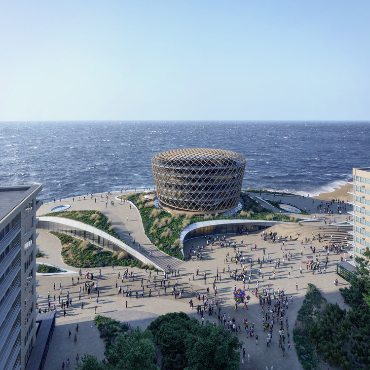 "ZJA Unveils ""Dune Landscape"" and New Landmark for the Belgian Coast, Courtesy of Proloog.tv"