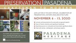 Preservation Pasadena: Craftsman to Modern