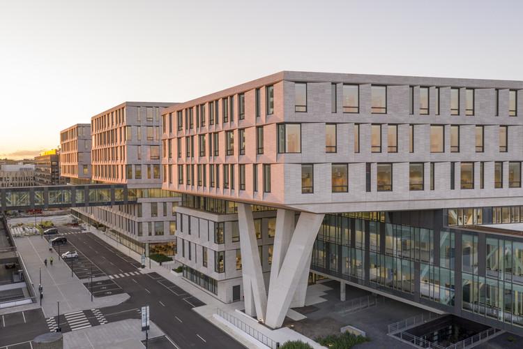 Rigshospitalet Hospital North Wing / LINK arkitektur + 3XN, © Adam Mørk