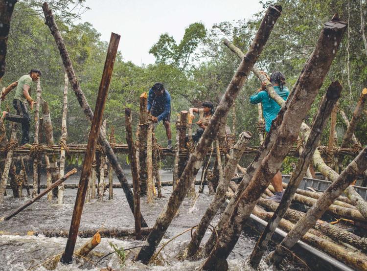 Represas de pesca - Pueblo Enawené-nawé de Mato Grosso (Brasil) . Image © Deep Forest Foundation