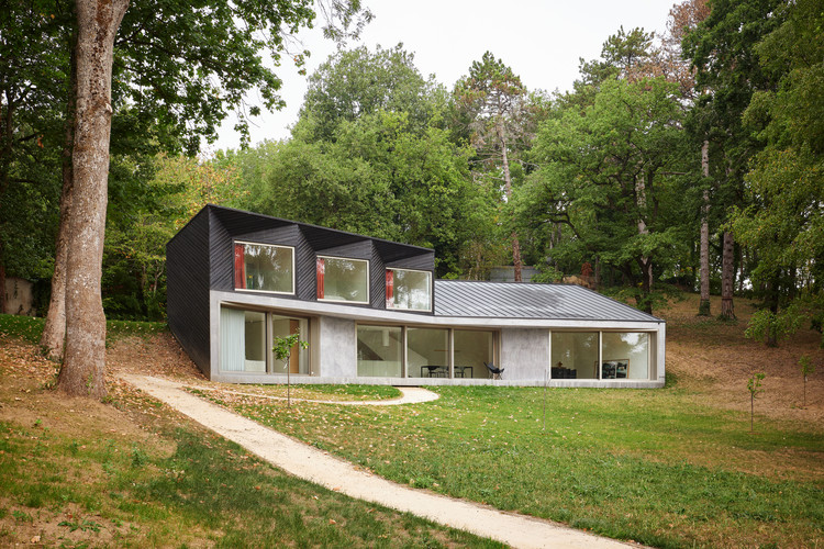 House V / NOVO architectures, © David Foessel