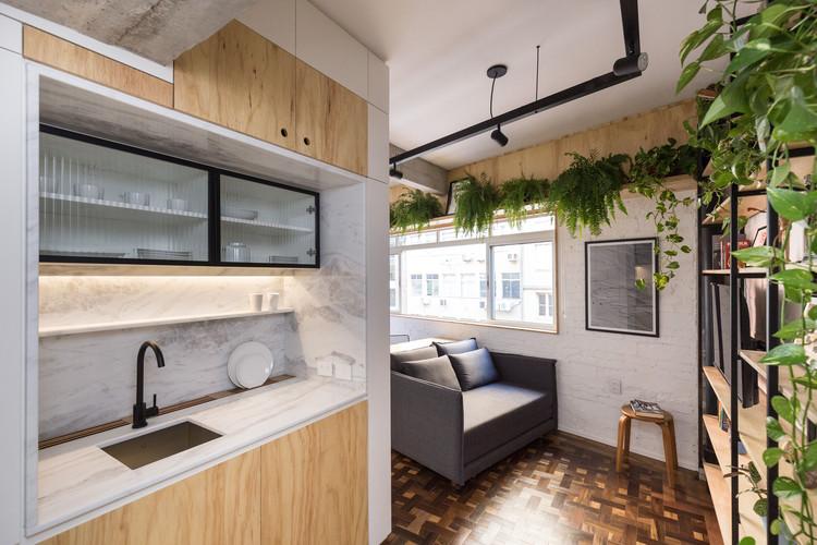 Departamento Lido 501 / Atelier Aberto Arquitetura, © Marcelo Donadussi