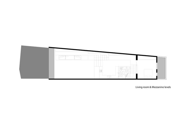 Living Room and Mezzanine Plan