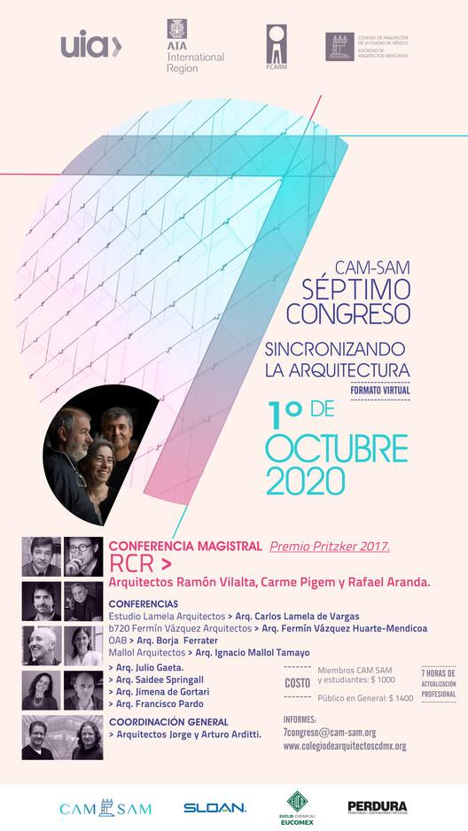 """7° Congreso CAM-SAM """"Sincronizando la Arquitectura"""", CAMSAM"""