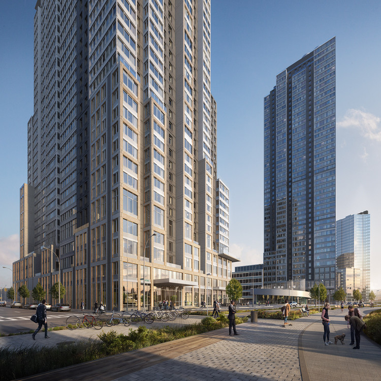 ODA Designs Largest Affordable Housing Project in NYC, © TF Cornerstone