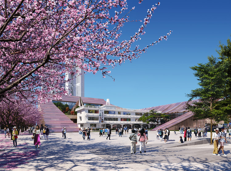 Snøhetta Unveils New Cheongju City Hall in South Korea, Courtesy of Snøhetta and Plomp