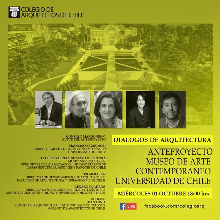 Diálogos de arquitectura: Anteproyecto Museo de Arte Contemporáneo (MAC)
