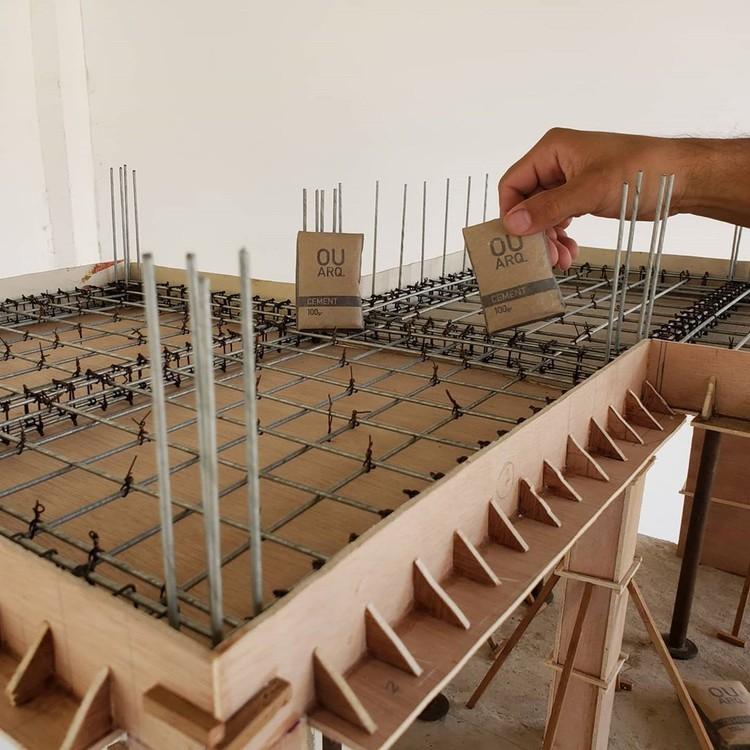 Construcción en miniatura: Maquetas desde la estructura hasta los acabados, Cortesia de OUROBOROS ARQ
