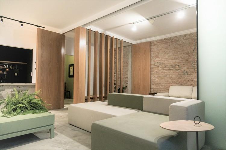 Apartamento LB / flipê arquitetura, © Rodrigo Xavier