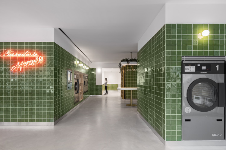 Self Service Laundry / stu.dere + Civiurban, © Ivo Tavares Studio