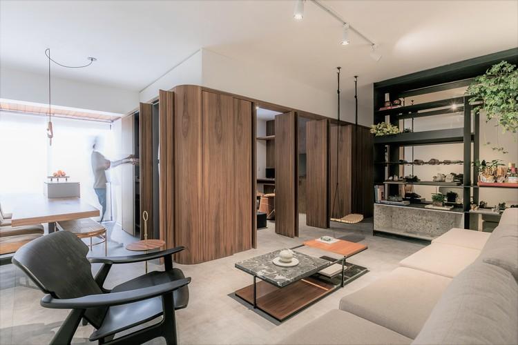 IMO Apartment / flipê arquitetura, © Rodrigo Xavier