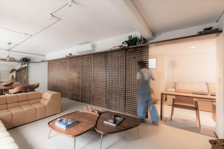 Apartamento ML / flipê arquitetura, © Rodrigo Xavier