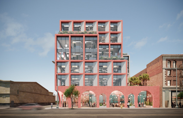 """""""Social Value Underpins How We Design"""": Matthew Ollier on Hawkins\Brown and Expanding to Los Angeles, Courtesy of Hawkins\Brown"""